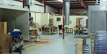 powder coating and painting shop image